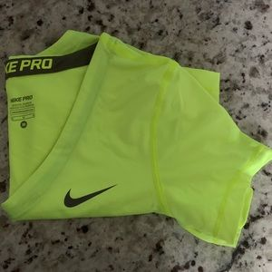 2 Nike pro shirts